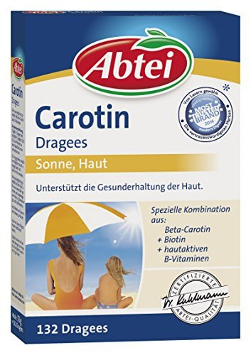 Abtei 42631 Carotin 132 Dragees - 1