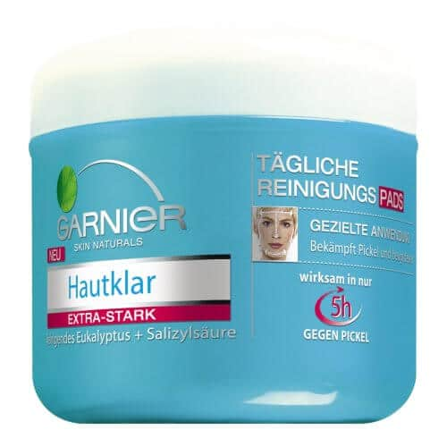 Garnier Hautklar tägliche Reinigungspads, 56 Stück - 1