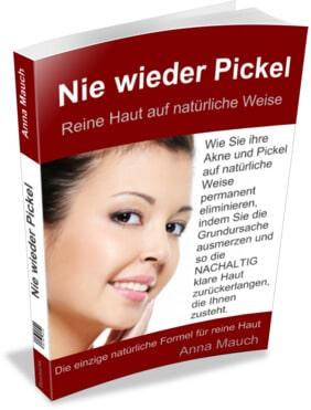 Nie wieder Pickel Buch von Anna Mauch