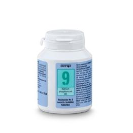 Schuessler Salz Nr. 9 - Natrium phosphoricum D6 - 400 Stk. Tabl., Biochemie, glutenfrei - 1